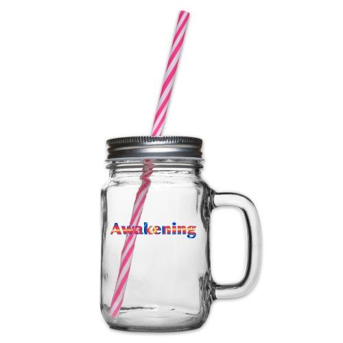 Awakening - Glass jar with handle and screw cap