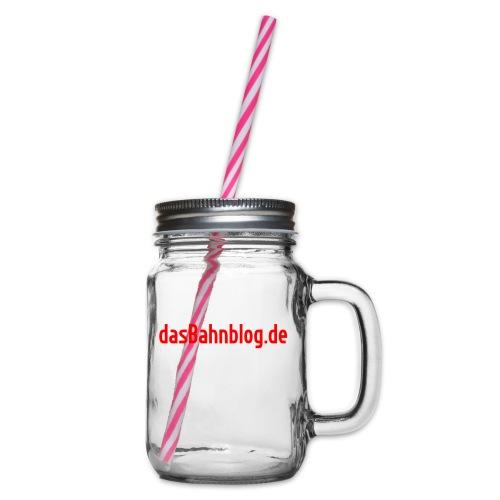 dasBahnblog de - Henkelglas mit Schraubdeckel