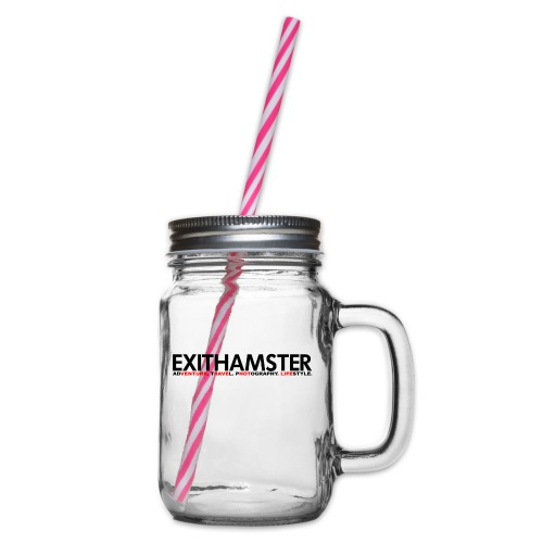 EXITHAMSTER ATPL - Glass jar with handle and screw cap