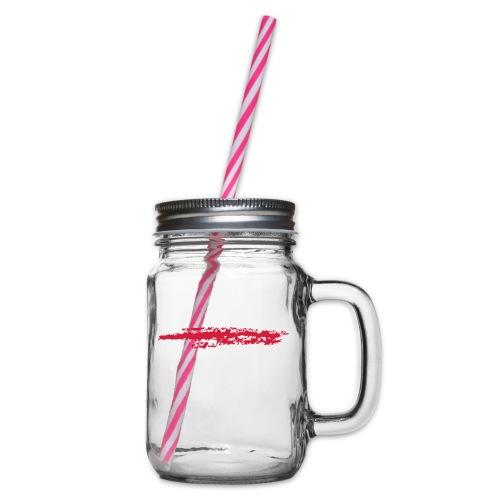 Linie_03 - Henkelglas mit Schraubdeckel