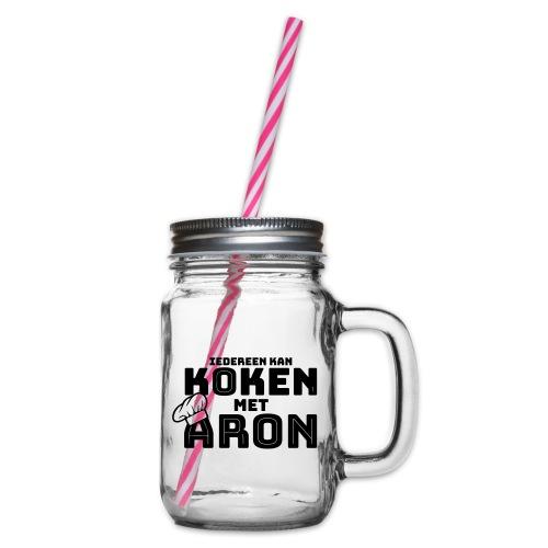 Koken met Aron - Drinkbeker met handvat en schroefdeksel