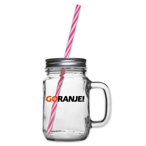 Go Ranje - Goranje - 2 kleuren - Drinkbeker met handvat en schroefdeksel