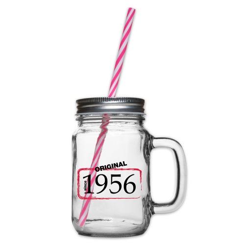 1956 - Henkelglas mit Schraubdeckel