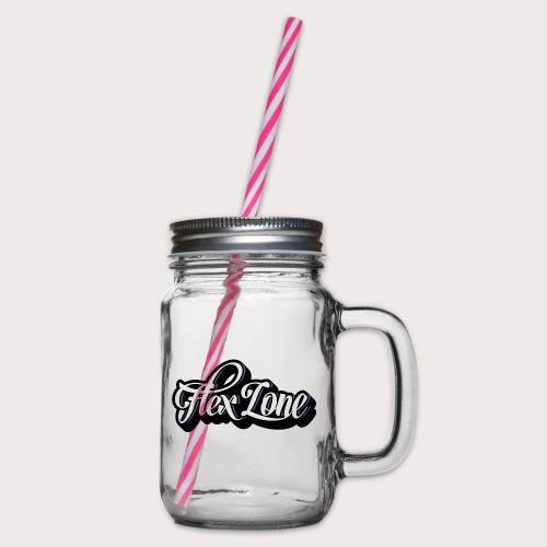 Flex Zone - Henkelglas mit Schraubdeckel