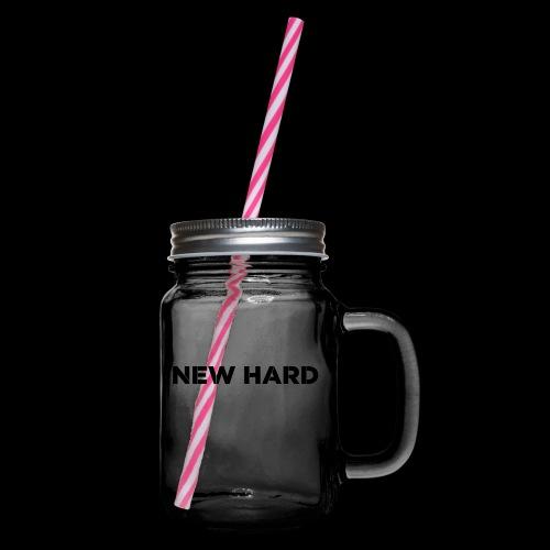 NAAM MERK - Drinkbeker met handvat en schroefdeksel