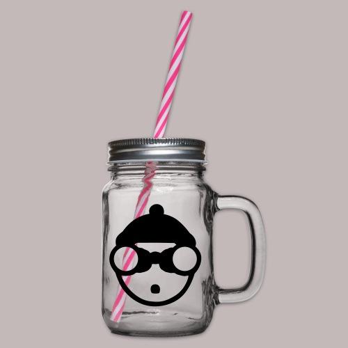 Peeper Skipper - Henkelglas mit Schraubdeckel