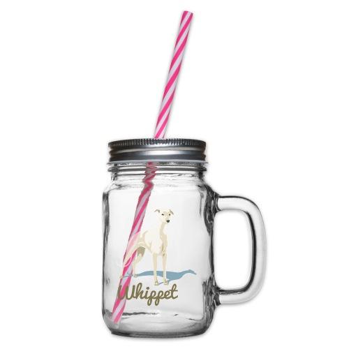Whippet - Henkelglas mit Schraubdeckel