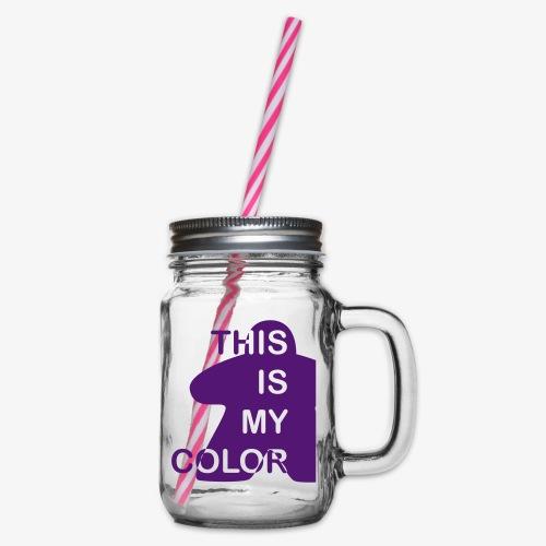 That is my Color - Glass med hank og skrulokk