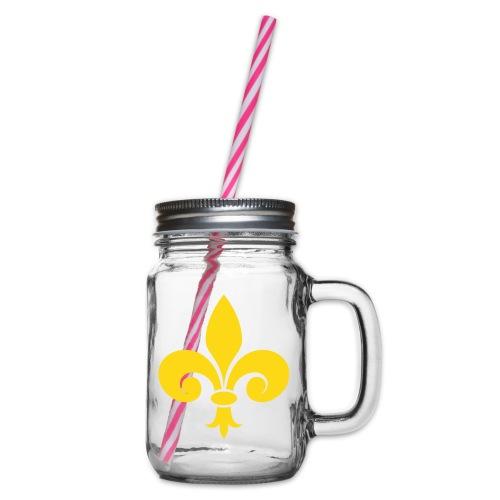 Fleur de Lys royale - Bocal à boisson
