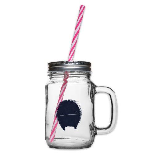 Het kleine monstertje - Drinkbeker met handvat en schroefdeksel