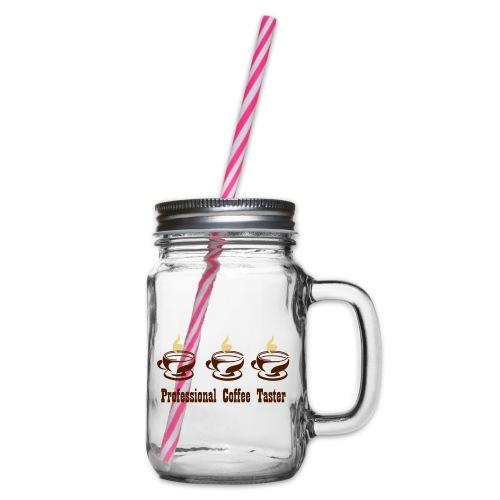 Professional Coffee Taster - Henkelglas mit Schraubdeckel