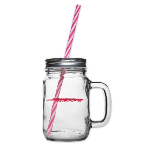 Linie_02 - Henkelglas mit Schraubdeckel