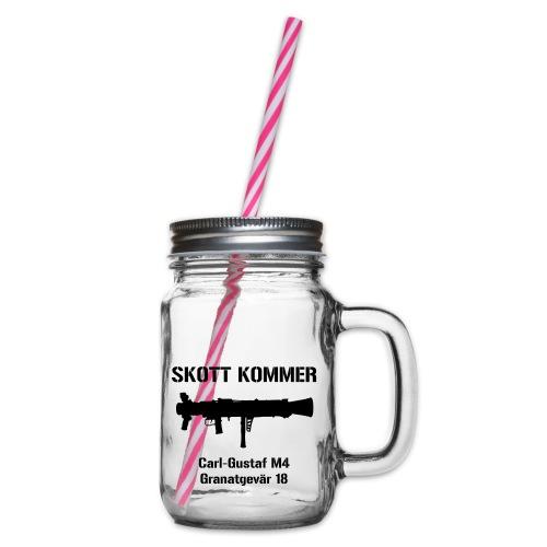 Skott Kommer CGM4 - Glas med handtag och skruvlock
