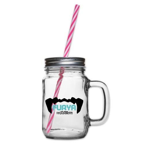 Logo Furya NOIR - Bocal à boisson