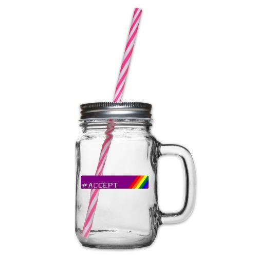 79 accept - Henkelglas mit Schraubdeckel
