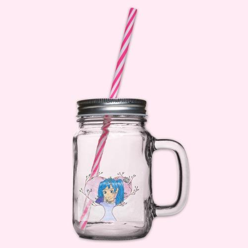 Limitiertes Design von Jou - Henkelglas mit Schraubdeckel