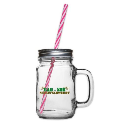 BAU-SUB Scharfschwerdt - Henkelglas mit Schraubdeckel