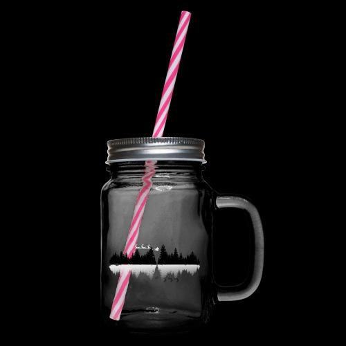 magic xmas - Henkelglas mit Schraubdeckel
