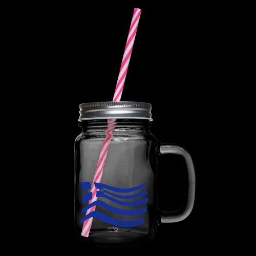 galanolefki - Henkelglas mit Schraubdeckel