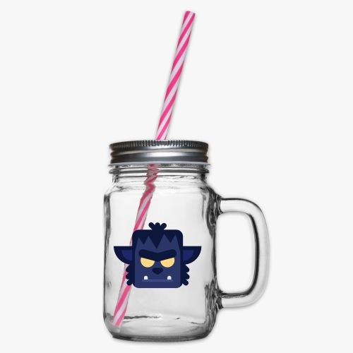 Mini Monsters - Lycan - Drikkekrus med skruelåg