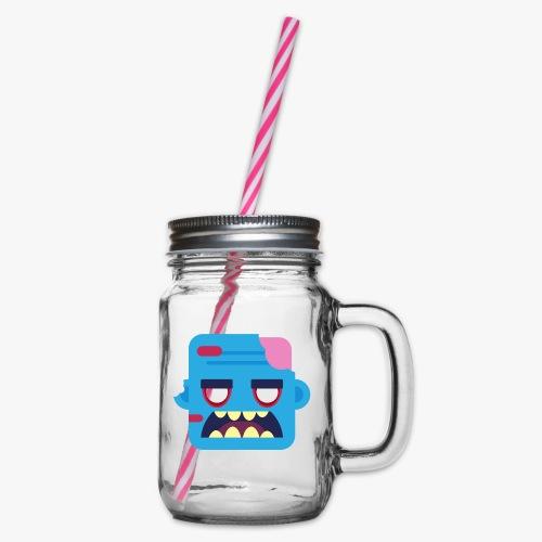 Mini Monsters - Zombob - Drikkekrus med skruelåg