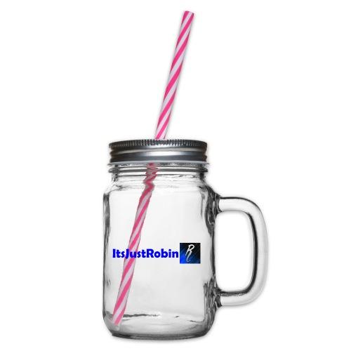 Eerste design. - Glass jar with handle and screw cap