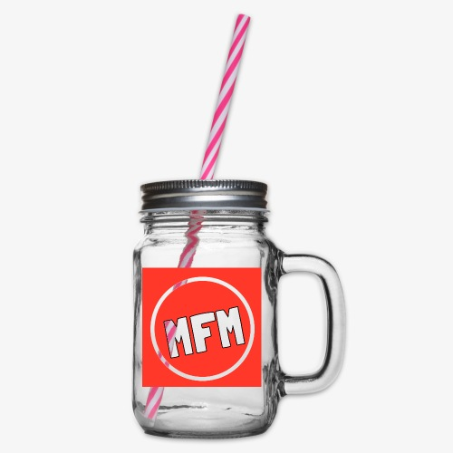 MrFootballManager Clothing - Glass jar with handle and screw cap