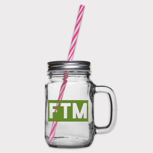Ftm logo - Boccale con coperchio avvitabile