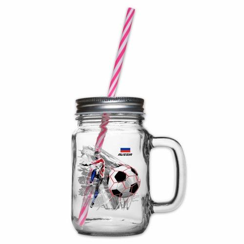 GP22F-04 RUSSIAN FOOTBALL TEXTILES AND GIFTS - Lasimuki kierrekannella