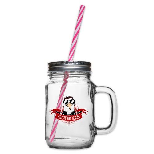 Küstenrocker - Henkelglas mit Schraubdeckel