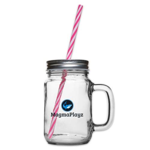 MagmaPlayz shark - Drikkekrus med skruelåg