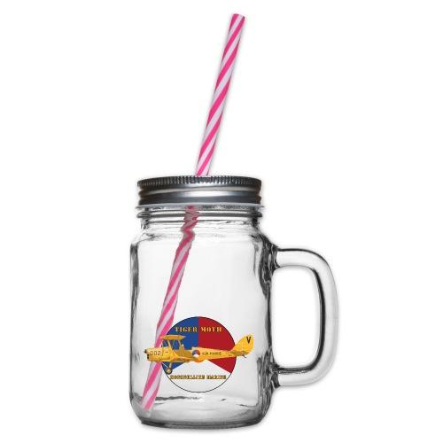 Tiger Moth Kon Marine - Glass jar with handle and screw cap