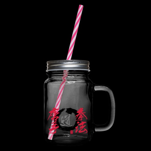 enso - Henkelglas mit Schraubdeckel