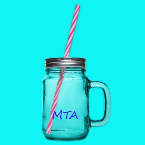 #MTA t-shirts - Drikkekrus med skruelåg