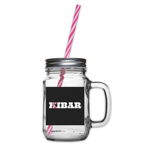 KIBAR - Drikkekrus med skruelåg