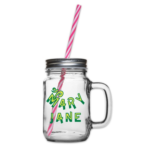 Mary Jane - Glass jar with handle and screw cap