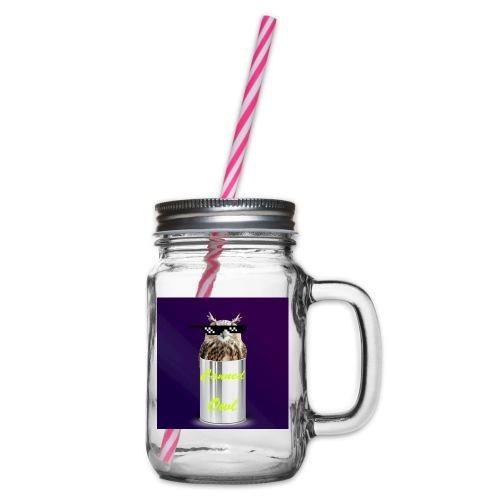 1b0a325c 3c98 48e7 89be 7f85ec824472 - Glass jar with handle and screw cap