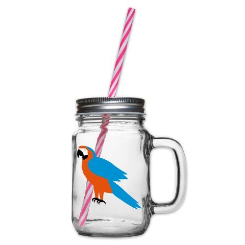 Parrot - Boccale con coperchio avvitabile