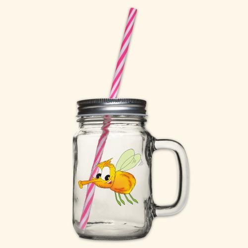 Buzz - Henkelglas mit Schraubdeckel