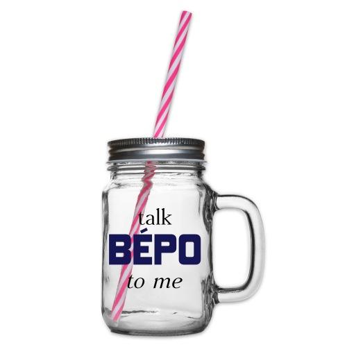 talk bépo new - Bocal à boisson
