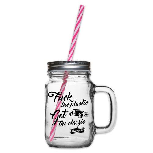 Fuck The Plastic - Get the Plastic - Bocal à boisson