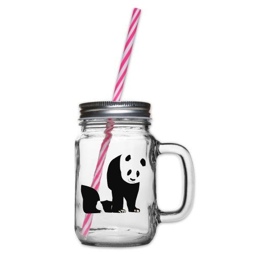Panda - Lasimuki kierrekannella