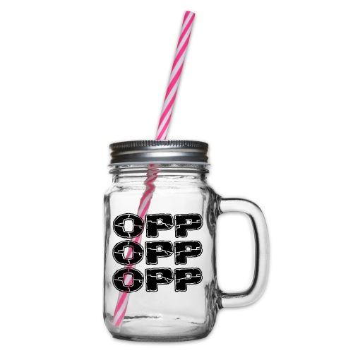 OPP Print - Lasimuki kierrekannella