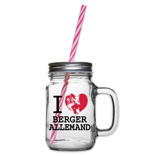 I love Berger Allemand - Bocal à boisson