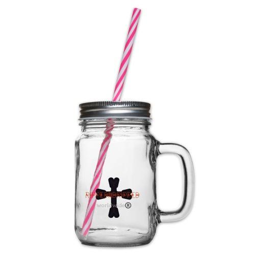 Rippedndripped - Drinkbeker met handvat en schroefdeksel