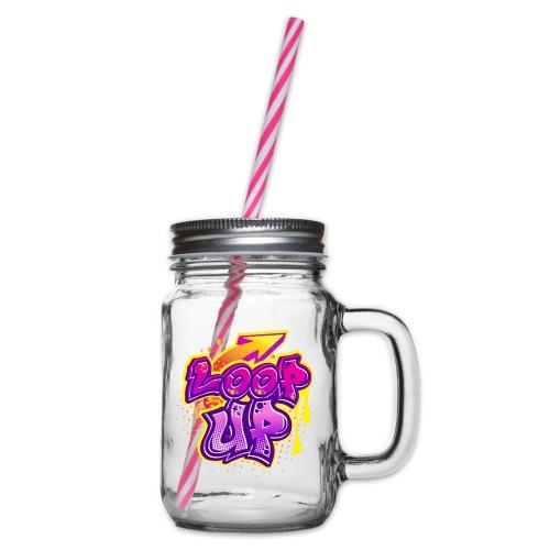 LOOP UP - Henkelglas mit Schraubdeckel