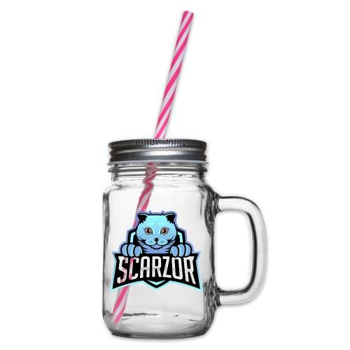 Scarzor Merchandise - Drinkbeker met handvat en schroefdeksel