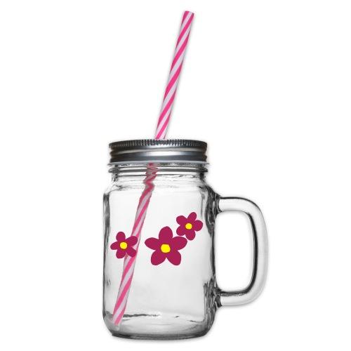 blume2016-01 - Henkelglas mit Schraubdeckel