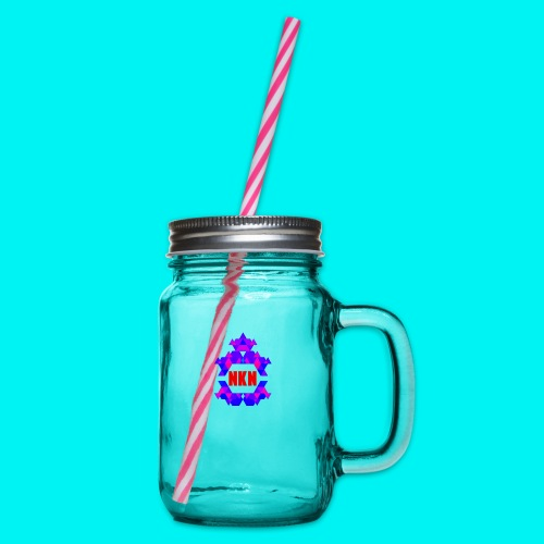 THE OFFICIAL NEUKADNEZZAR T-SHIRT - Glass jar with handle and screw cap