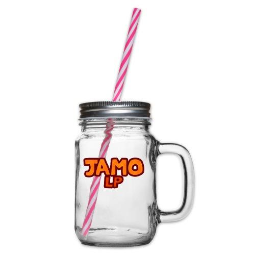 JAMOLP Logo Mug - Drikkekrus med skruelåg